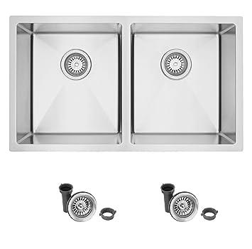 Amazon.com: Canda 31 inch para fregadero de cocina (Acero ...