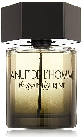 c9479a6b08d Amazon.com : Yves Saint Laurent La Nuit De L'Homme Eau de Toilette Spray,  3.3-Ounce : Beauty