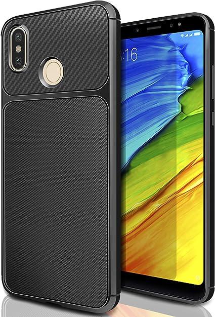 Custodia Xiaomi Redmi Note 5 Due Finestre Cover morbida Funzione supporto Oro