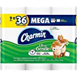 Charmin Ultra Gentle Toilet Paper, Mega Roll 9 Count (Pack of 2)