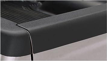 Bushwacker 58501 Smooth Black Bed Rail Caps for 94-02 Dodge//Ram 1500//2500//3500