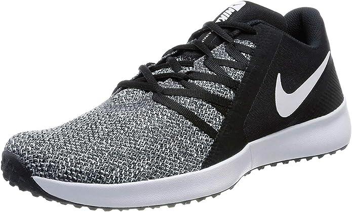 Nike Varsity Compete Trainer, Zapatillas de Running para Hombre, Negro (Black/White 001), 45 EU: Amazon.es: Zapatos y complementos