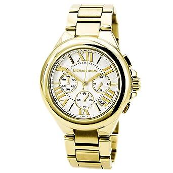 9b0b65d2d2ae Amazon.com: Michael Kors Women's MK5635 Camille Gold Watch: Michael ...