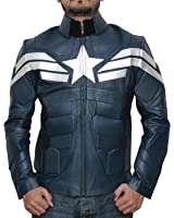 Decrum Captain America Winter Soldier Jacket - Captain America Costume Jacket