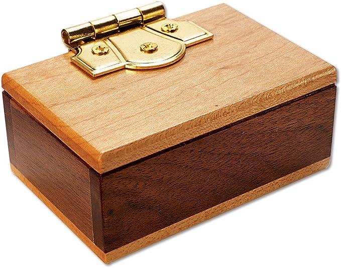 Bits and Pieces - The Mini Secret Box Brainteaser Puzzle - Wooden ...