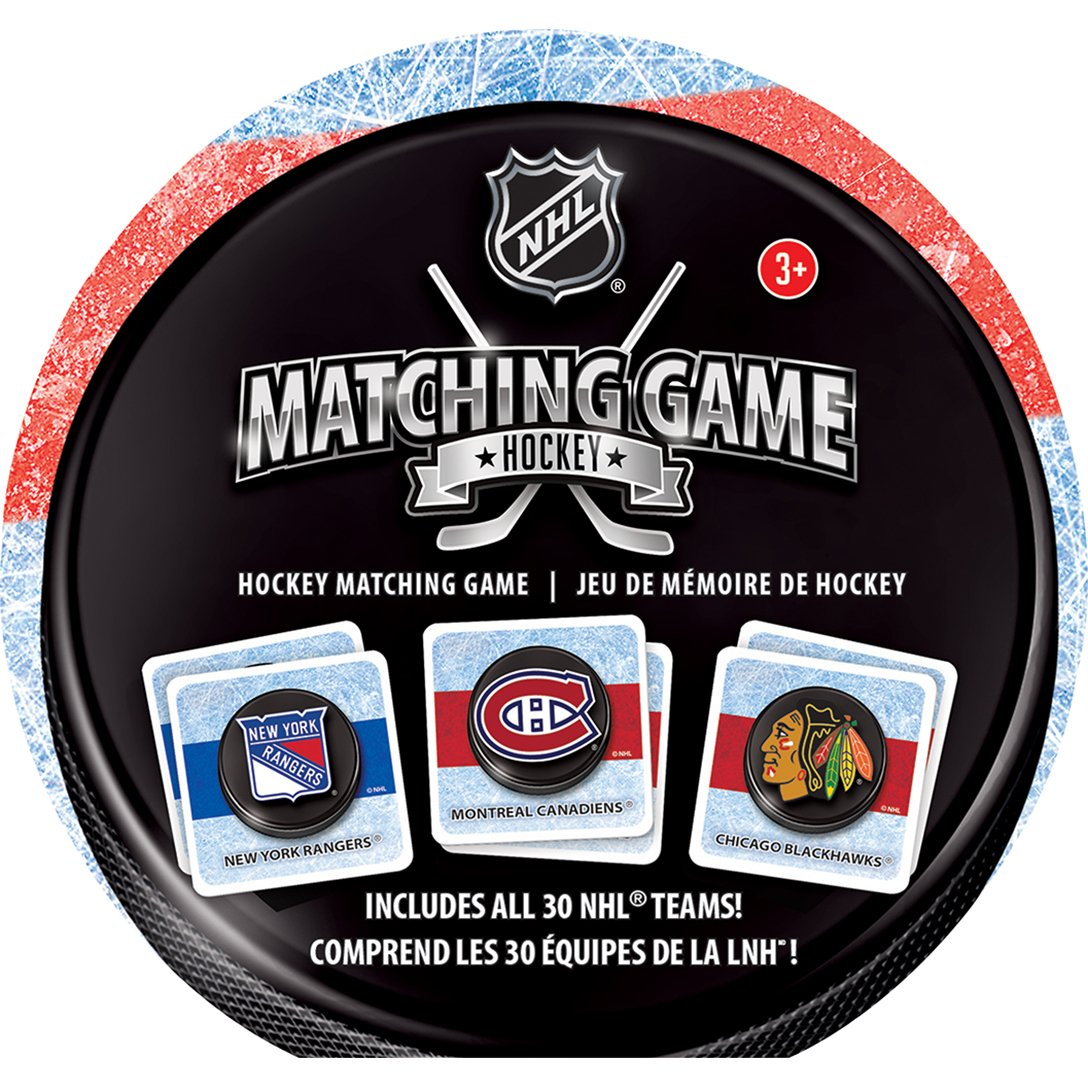 MasterPieces NHL Hockey Teams Matching Game