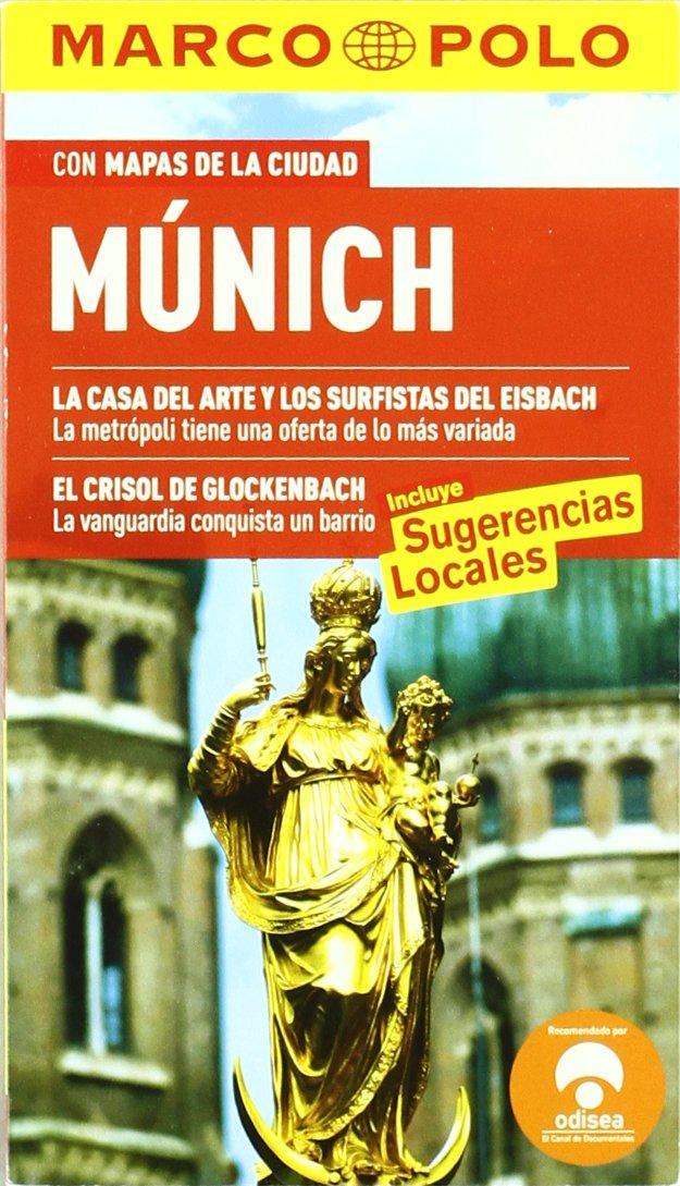 Munich - con mapas de la ciudad (Marco Polo - Guias): Amazon.es ...