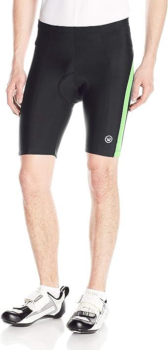 2XL XXL Canari Mens Quest Padded Cycling Short Black Yellow XX-Large