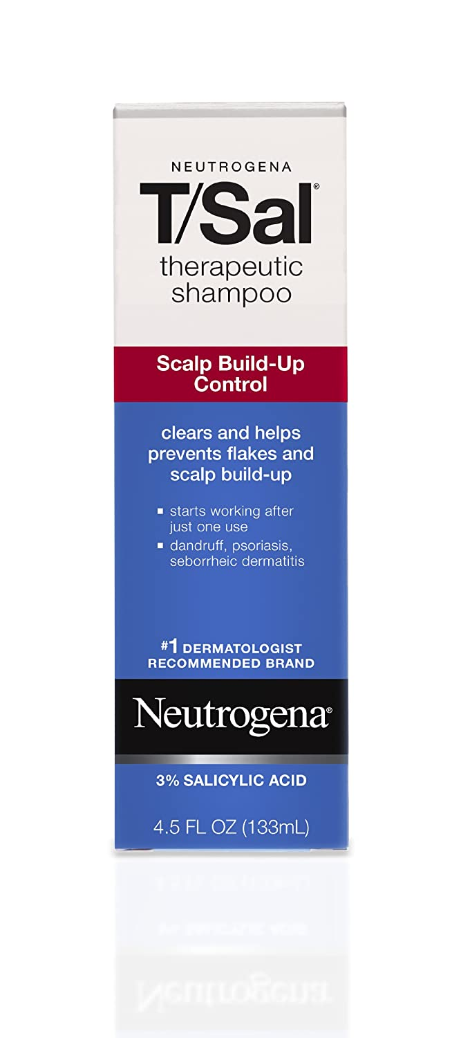 Neutrogena T/Sal Therapeutic Shampoo, Scalp Build-Up Control 4.5 oz JJ009650