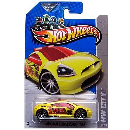 Amazon Com Hot Wheels Hw City 18 250 Mitsubishi Eclipse Concept Car