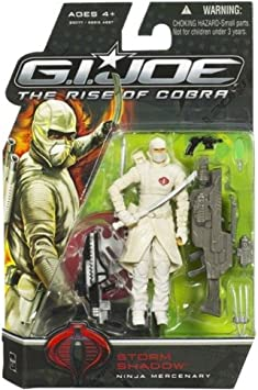 Joe The Rise of Cobra Storm Shadow Ninja Mercenary G.I