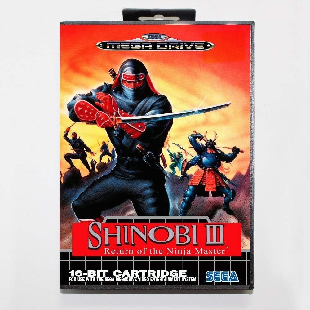 Amazon.com: Shinobi 3 Return Of The Ninja Master 16 Bit Sega ...