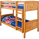 Heavy Duty Bunk Bed 3ft Single Solid Pine Bunk Bed Can Be Used