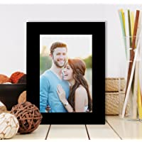 Painting Mantra Art Street Table Photo Frame (5x7 Inches Photo Size, Black)