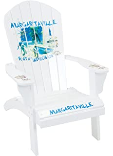 Margaritaville Outdoor Adirondack Chair, Port Of Indecision