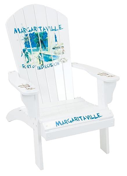 Margaritaville Outdoor Adirondack Chair, Port Of Indecision