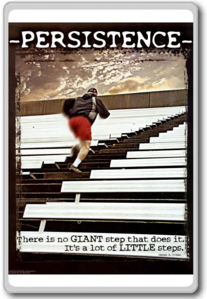 There is no GIANT step that does it. It's a lot of little steps