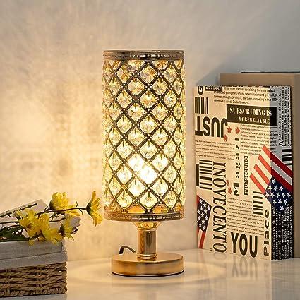 Lámpara De Mesa Cristal Decoraciones para Salas De Casa ...