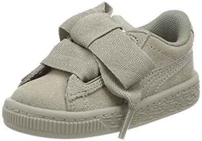 newest 80822 87c62 Puma Girls' Suede Heart SNK Inf Trainers: Amazon.co.uk ...