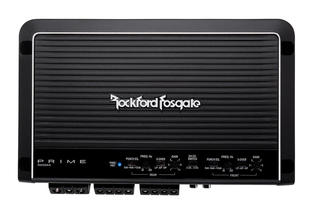 Amazon com rockford fosgate r250x4 prime 4 channel amplifier car electronics