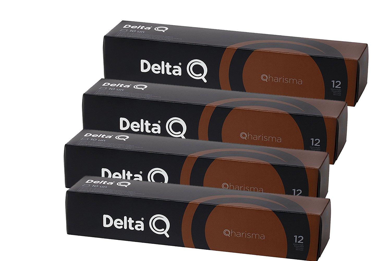 Pack Xl 40 Café QHARISMA - Cápsulas Delta Q - INTENSIDAD 12 - 4 ...