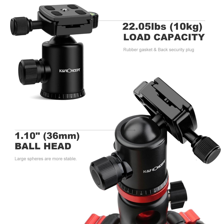 K&F Concept TM2534T Stativ Kamera Reisestativ Amazon Kamera