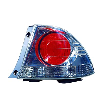 DEPO 212-19G6R3US7 Replacement Passenger Side Tail Light Housing (This product is an aftermarket product. It is not created or sold by the OE car company): Automotive
