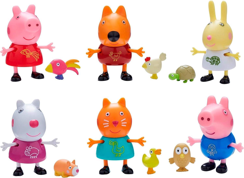 Peppa Pig 6918 Pals & Pets-Styles - Figura Decorativa de Cerdito: Amazon.es: Juguetes y juegos