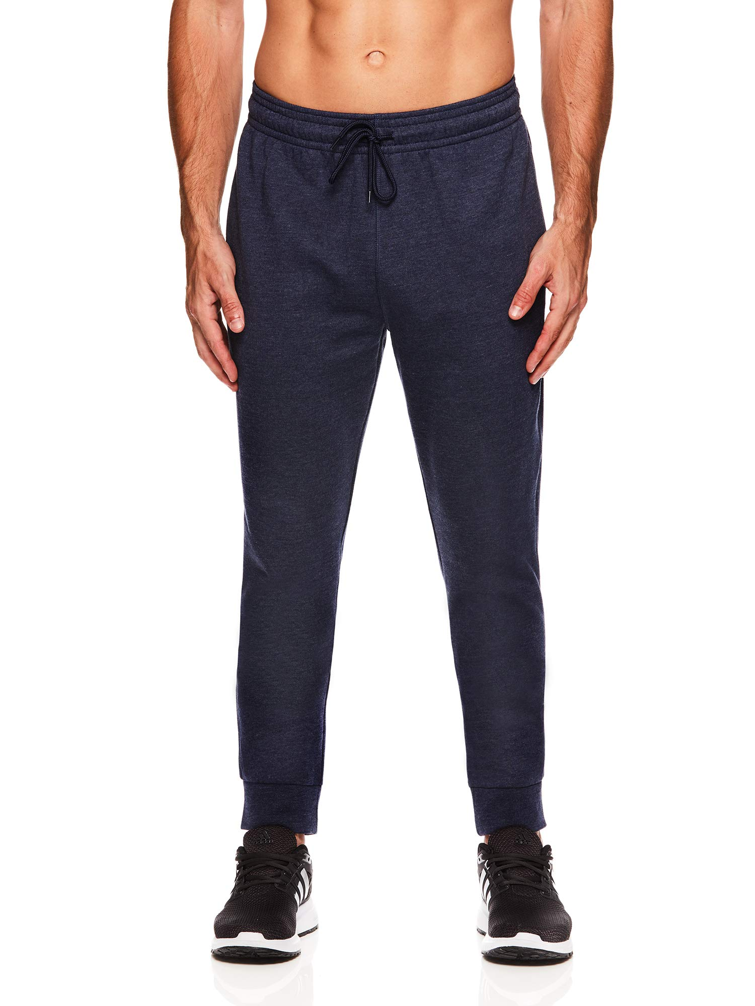 HEAD Men's Jogger Activewear Pants - Performance Workout & Running Sweatpants - Ultra Navy Heather, Small