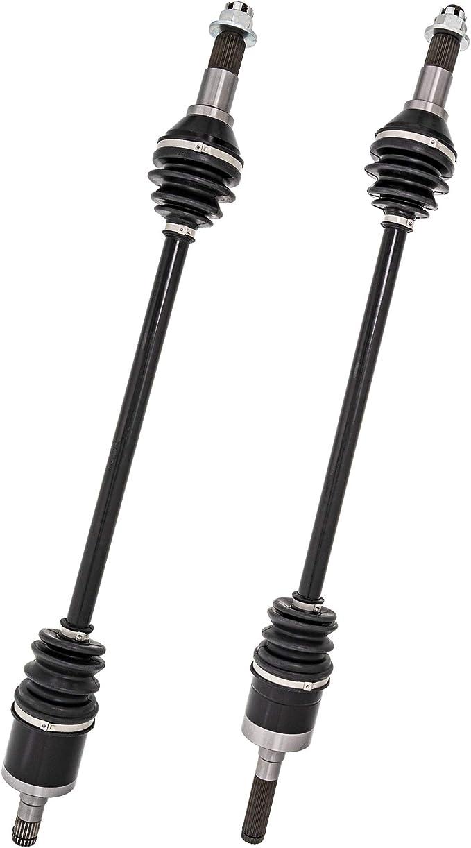 NICHE High Strength Rear Left Right CV Axle Drive Shaft For 2014-2015 BRP Can-Am Maverick 1000R 2 Pack