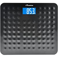 """Accuweigth Anti-skid Digital Bathroom Body Weight Scale with 3.6"""" Backlight Display and Step-on Technology, 400lb/180kg…"""