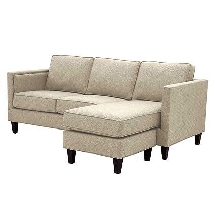 Amazon.com: Anderson Reversible Chaise Sofa, Beige: Kitchen ...