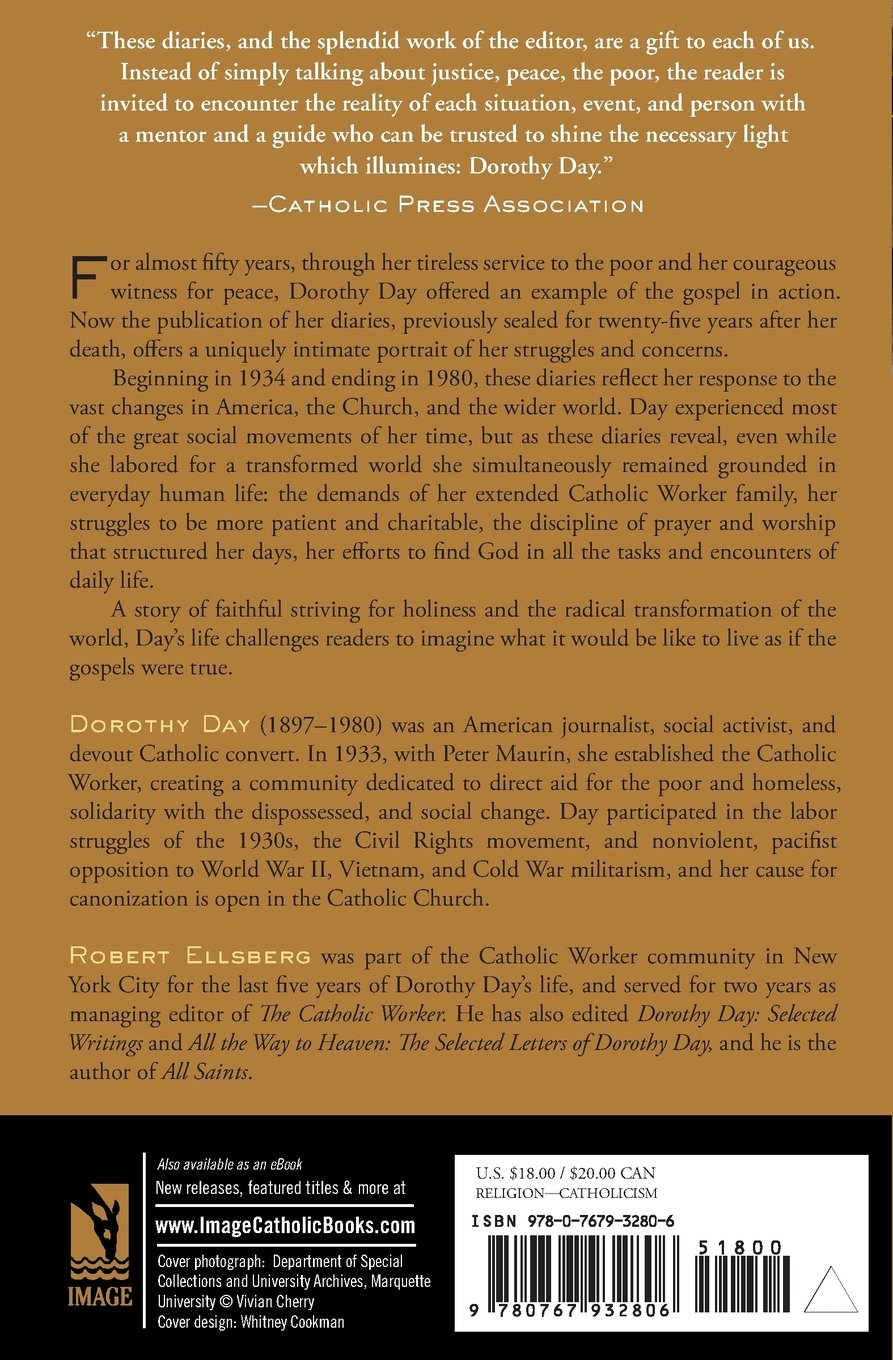 The Duty Of Delight: The Diaries Of Dorothy Day: Dorothy Day:  9780767932806: Amazon: Books