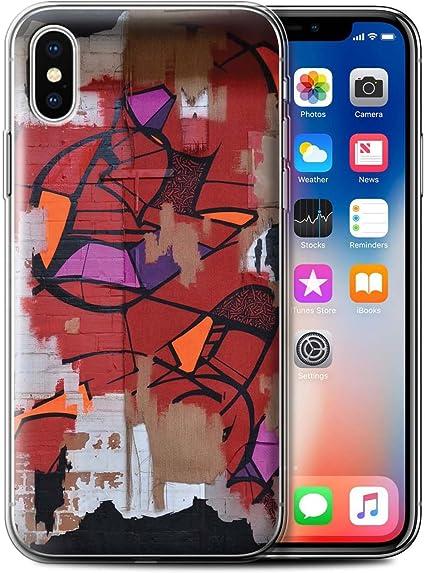 STUFF4 Phone Case/Cover/Skin/IP-gc/urbanart colección, Gel, Red ...