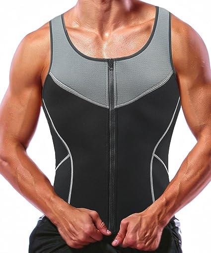 Sauna Hot Suit Shaper  Men Slimming Belly Belt Corset 100/% Neoprene 2.5mm Vest