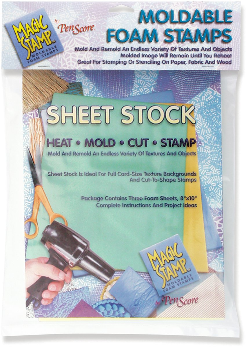 CLEARSNAP 462345 Magic 3-Piece Stamp Sheet Stock