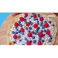 Cómo hacer pizza dulce en casa fácil y rápido