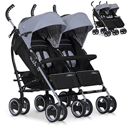 Hermanos - Carrito doble para DUO Comfort de carro | plegable ...