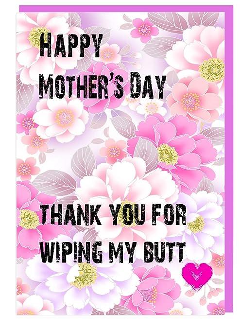Tarjeta de felicitación de día de la madre, con texto en ...