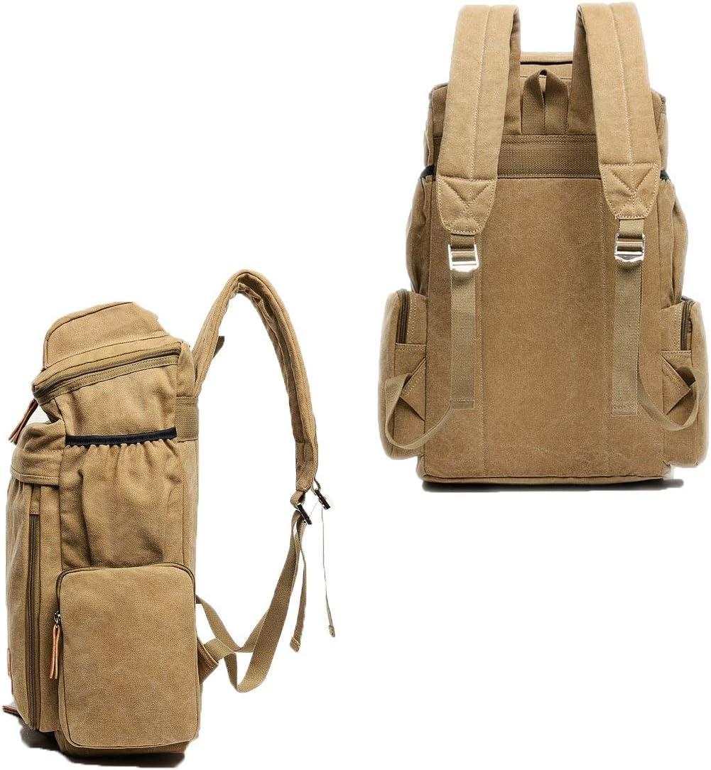 Vintage Backpack 19 Classic Multi-color Optional Large Capacity Duffel Bag 23 Inches Handbag Vintage Versatile Canvas Backpack Waterproof And Wearable Travel Essential, Work Bag
