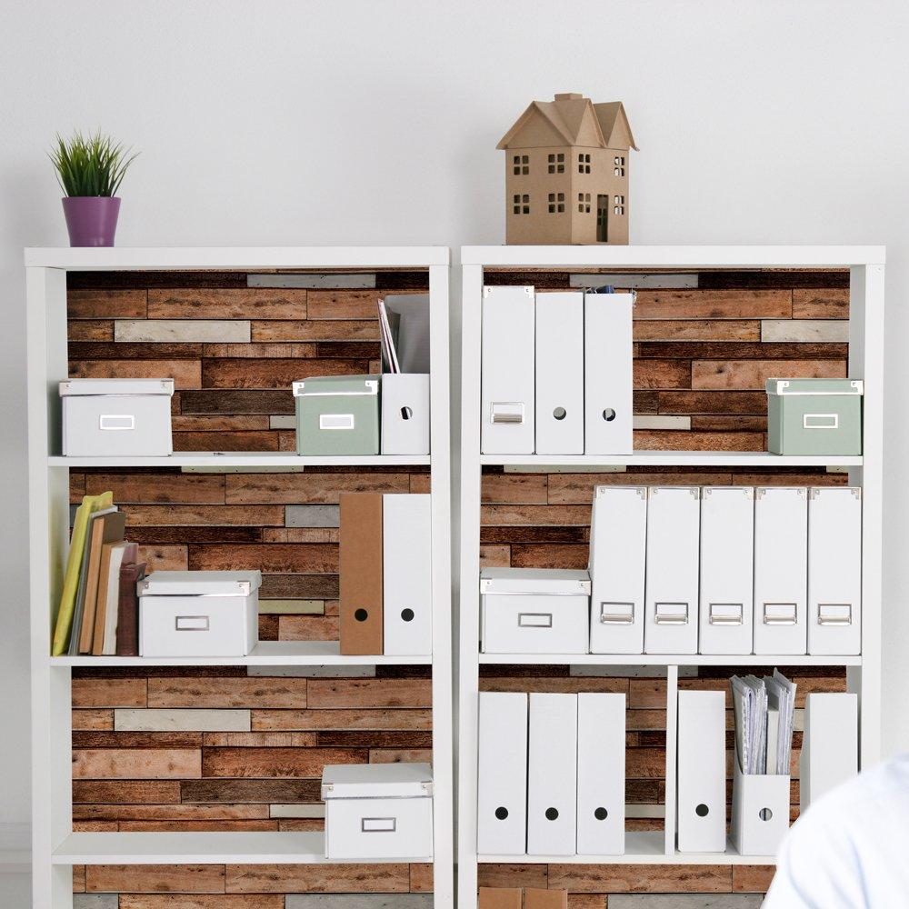 selbstklebende Möbelfolie mit 3D Holz-Optik – Dekorfolie für Möbel ...