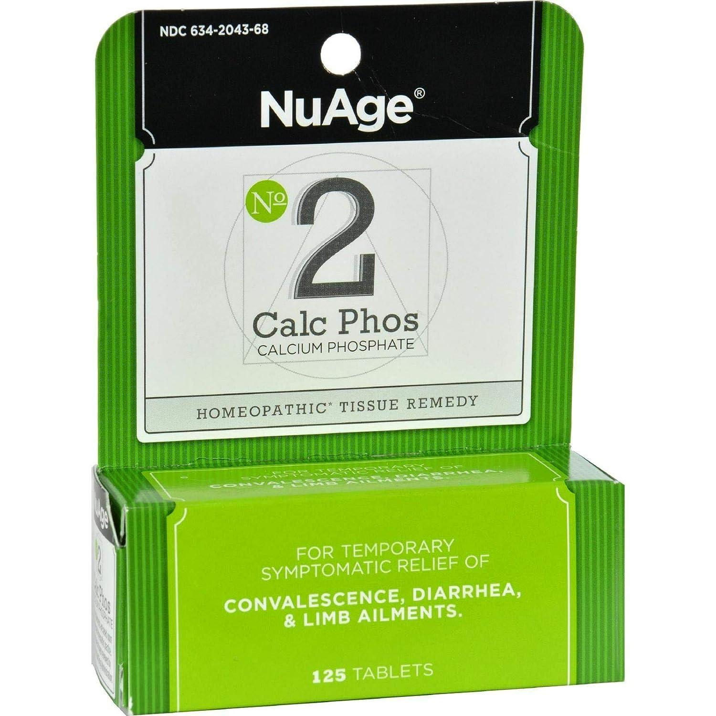 Amazon.com: Nuage, número 2 Calc Phos, fosfato de calcio ...