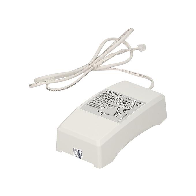 Detector de Movimiento Orno Microondas con Sensor Exterior ...