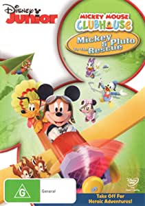 Mickey Mouse Clubhouse: Mickey & Pluto To The Rescue (Re-branded) (DVD)