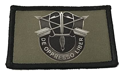 Subdued Army Special Forces Morale Patch Tactical Military  2x3
