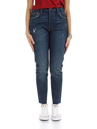 026eaf5066fe Levi s - Pantalon - Skinny - Femme Bleu Bleu - Bleu - 25W x 28L ...