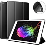 ZOYU 9.7 iPad case for 2017/2018,Ultra Slim Lightweight Smart Case Soft Silicone Cover Stand with Auto Sleep/Wake for iPad 9.7 iPad 5th/6th Generation (black)