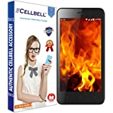 Cellbell TM Reliance Jio LYF Flame 1 9H Premium Tempered glass screen protector with FREE Installation Kit