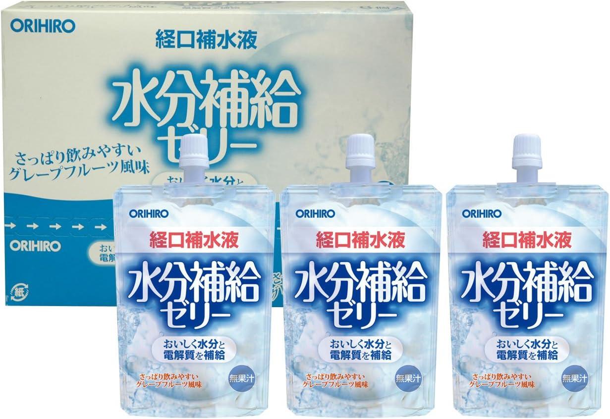 経口 補水 液 ゼリー
