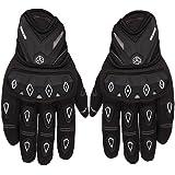 Scoyco MC10 Bike Riding Gloves Set of 2 Black and White Size-L